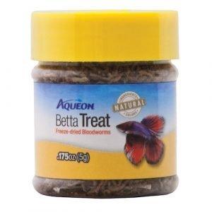 Aqueon Betta Treat Bloodworm