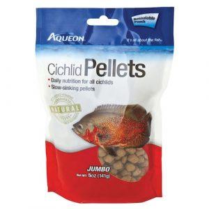 Aqueon Cichlid Pellets Resealable Pouch
