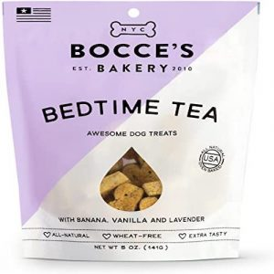 Bocces Bakery Dog Biscuits Bedtime Tea