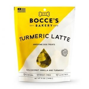 Bocces Bakery Dog Biscuits Tumeric Latte