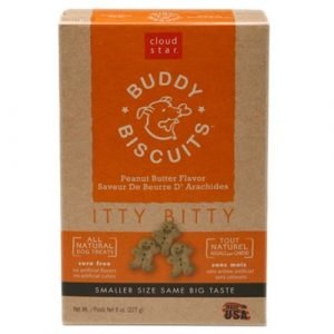 Itty Bitty Buddy Biscuits with Peanut Butter Dog Treats