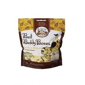 Exclusively Pet Best Buddy Bones Chicken Flavor Dog Treats