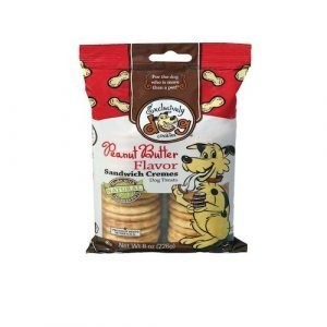 Exclusively Pet Sandwich Cremes - Peanut Butter Dog Treats