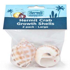 Fluker's Hermit Crab Growth Shells Large