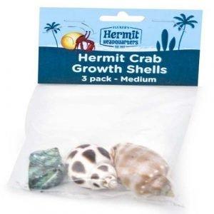 Fluker's Hermit Crab Growth Shells Medium