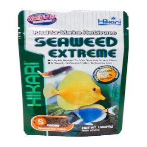 Hikari Seaweed Extreme Pellet Fish Food - 1.58oz
