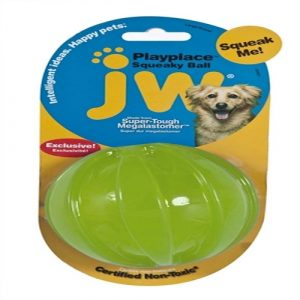 JW Pet Squeaky Ball