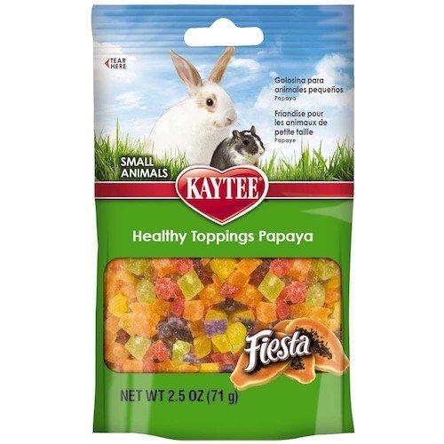 Kaytee Fiesta Healthy Toppings Papaya Small Animal Treats