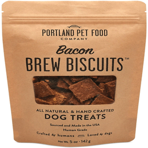 Portland Pet Food Brew Biscuits with Bacon Dog Treats