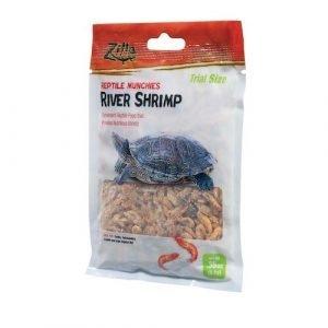 Zilla Munchies River Shrimp Reptile Food