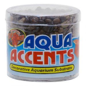 Zoo Med Aqua Accents Dark River Pebbles